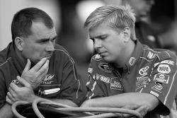 Michael Waltrip Racing crew members