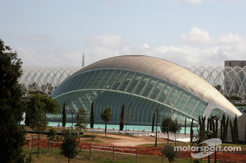 Valencia City feature, Palau de les Arts and L'Hemisferic
