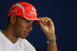 FIA press conference: Lewis Hamilton, McLaren Mercedes
