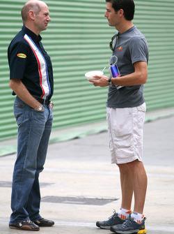 Adrian Newey, Mark Webber, Red Bull Racing