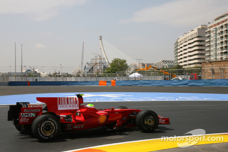 2008 - Valencia: Felipe Massa, Ferrari F2008