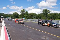 Pre-race griding