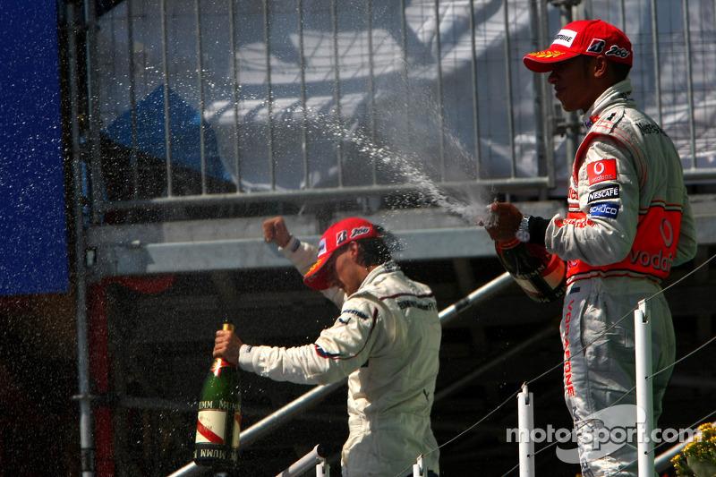 19-Gran Premio de Europa 2008 (2º), McLaren
