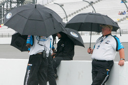 The Emerson Radio 250 qualifying gets rained out