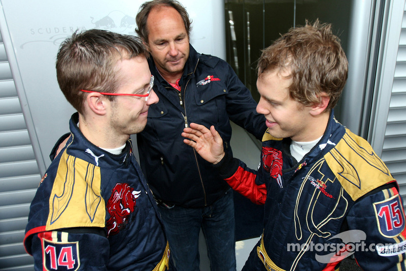 Sébastien Bourdais, Scuderia Toro Rosso with Gerhard Berger, Scuderia Toro Rosso, 50% Team Co Owner