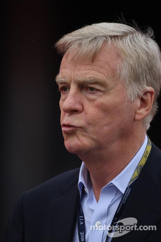 Max Mosley, FIA President
