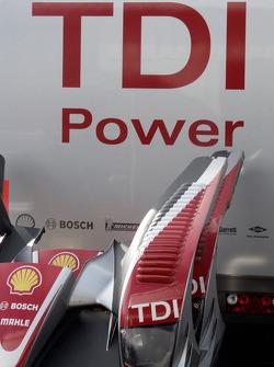 Audi Sport Team Joest pit area