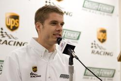 UPS/Roush Fenway Racing press conference: David Ragan