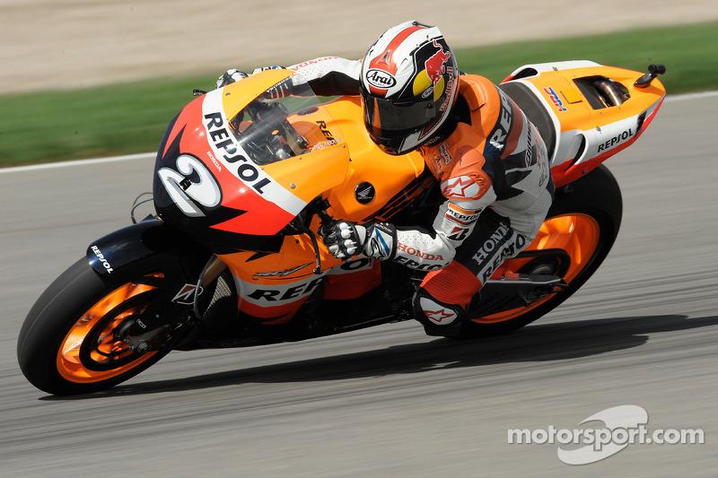 2008, MotoGP: 3º no campeonato, 249 pontos