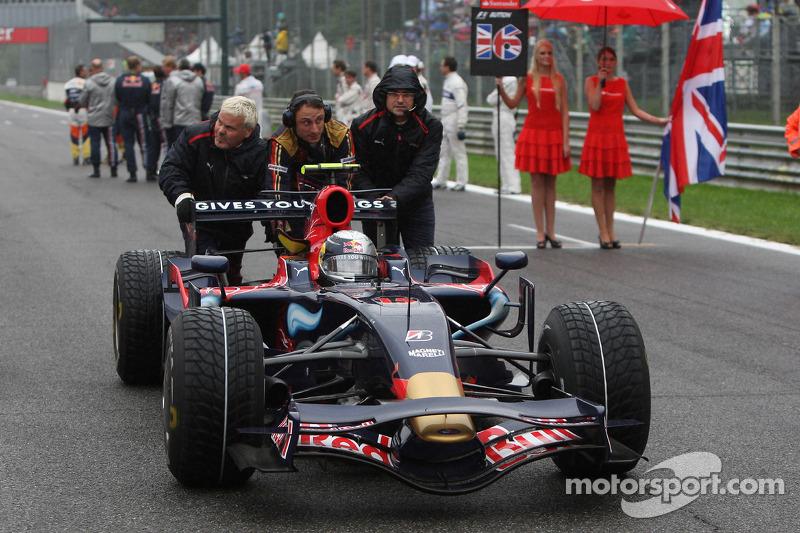 El Toro Rosso de 2008: 'Julie'