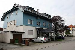 Sebastian Vettel's home town visit in Heppenheim, Germany: family house