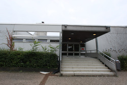 Sebastian Vettel's home town visit in Heppenheim, Germany: the Starkenburg Gymnasium of Sebastian Vettel