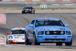 #112 Larry Miller Racing Ford Mustang GT: James Burke, Dan McKeever