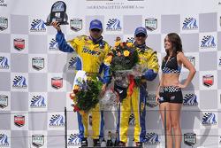 GS podium: class and overall race winners Matt Alhadeff and Bill Auberlen