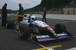 Chris Woodhouse (GB) Woodhouse Bros., F1 Lola T90/50 Cosworth 3.5 V8