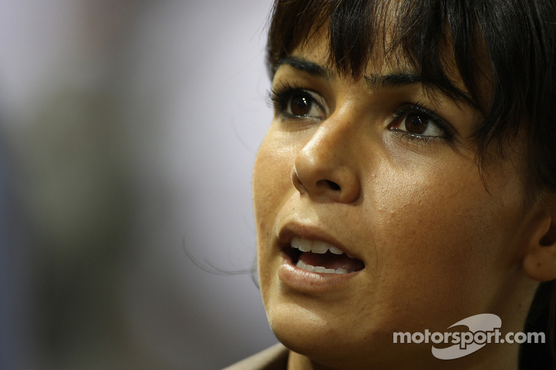 Raquel Rosario, Freundin von Fernando Alonso