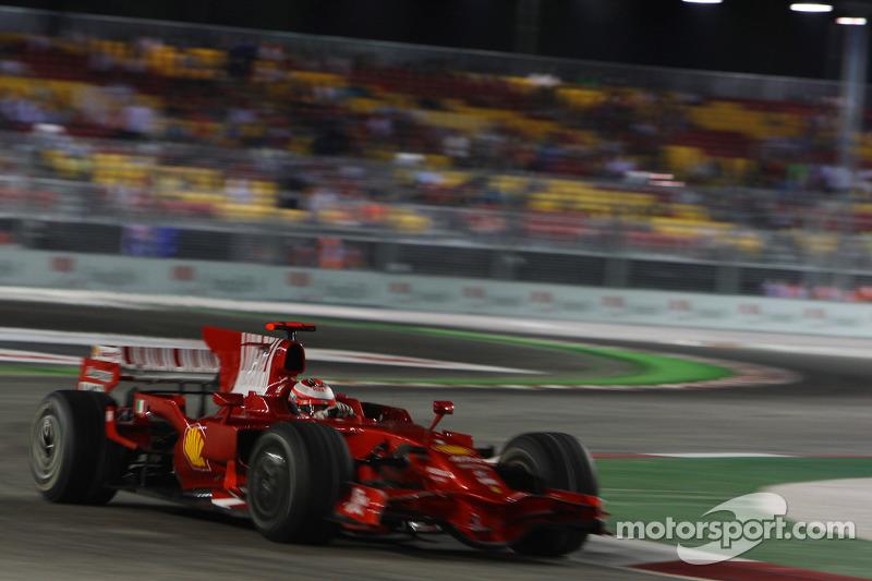 Kimi Röikkönen, Scuderia Ferrari, F2008