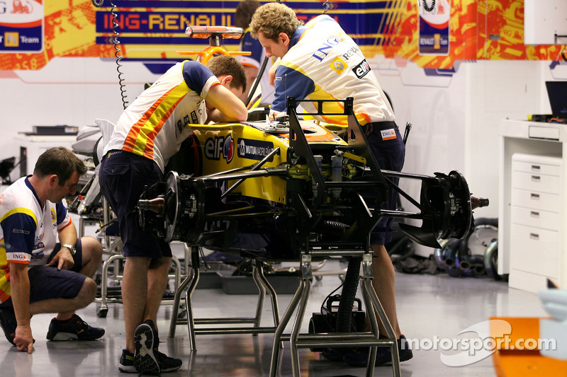 Mechaniker: Renault F1 Team