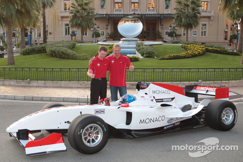 A1 Team Monaco launch