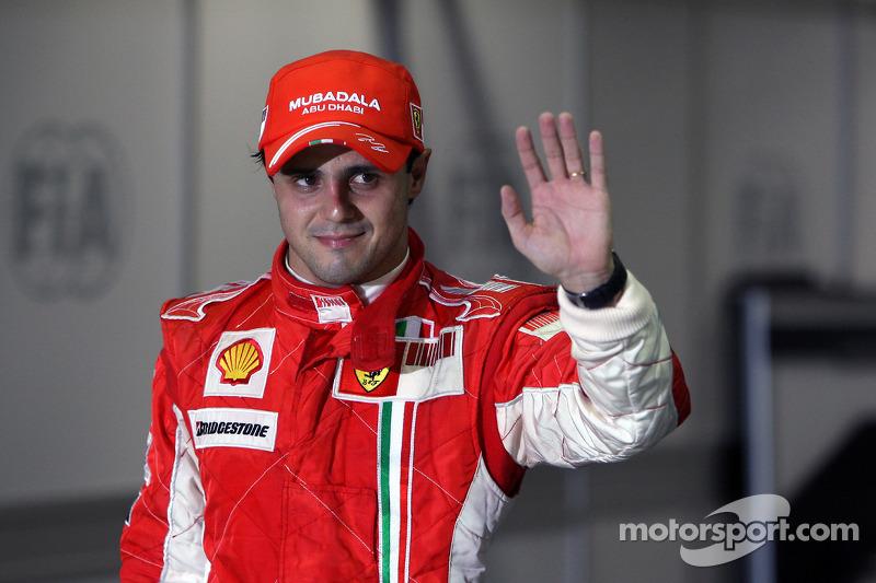 Polesitter Felipe Massa