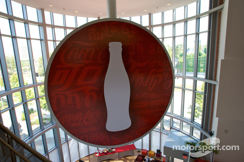 Visit of World of Coca-Cola
