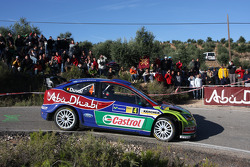 François Duval and Patrick Pivato, BP Ford Abu Dhabi World Rally Team, Ford Focus RS WRC