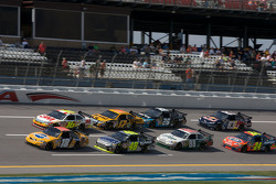 Kyle Busch, Greg Biffle, Jimmie Johnson, Matt Kenseth, Dale Earnhardt Jr., Jamie McMurray, Jeff Gordon and Brian Vickers