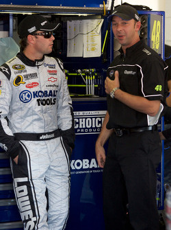 Jimmie Johnson and crew chief Chad Knaus