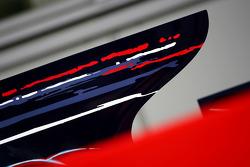 Scuderia Toro Rosso engine cover detail