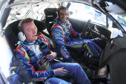 Khalid Al-Qassimi and Michael Orr, Ford World Rally Team Ford Focus RS WRC