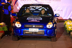 Kirsty Nelson and co-driver Michele Brunt, Subaru Impreza WRX for Nelson Motorsport