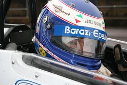 Michael Vergers se prépare à la course