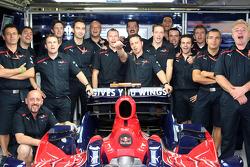 Sébastien Bourdais con el equipo