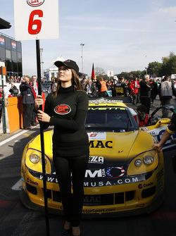 Phoenix Carsport Racing Corvette Z06, Mike Hezemans and Fabrizio Gollin