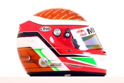 Daniel Morad, driver of A1 Team Lebanon helmet