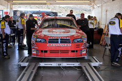 Target Dodge at tech inspection