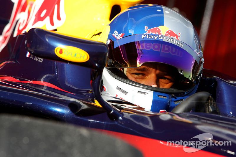 Sébastien Loeb, pilote d'essai Red Bull Racing