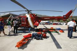 Lago Potrero de los Funes helicopter
