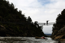 Launceston, Australia: Gibson Kemori of Team No Roads in action