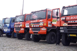 Team de Rooy trucks