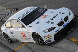 BMW Rahal Letterman Racing Team tests: the BMW Rahal Letterman Racing BMW M3