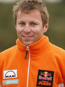 KTM: Stefan Huber, technical team manager