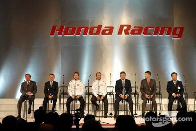 Honda motor sports highlights press conference, Tokyo, Japan