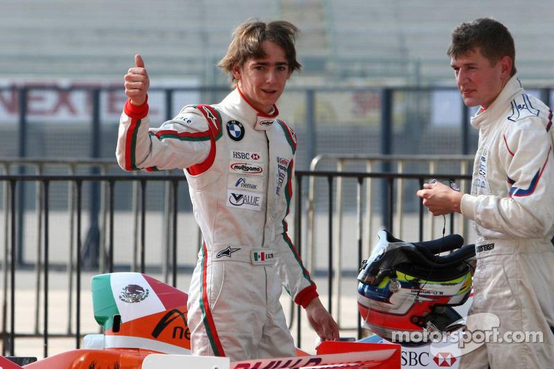 2008 Esteban Gutiérrez, Josef Kaufmann Racing, Michael Christensen, Josef Kaufmann Racing Fórmula BMW