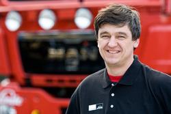 MAN Rally Team: Bernard der Kinderen, mechanic truck 1