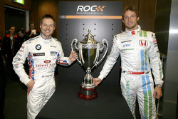 Jenson Button and Andy Priaulx