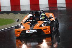 Carl Edwards in a KTM X-Bow