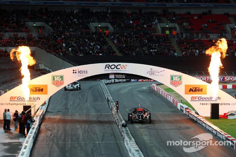 Heat, race 6: Mattias Ekström wins in front of Adam Carroll