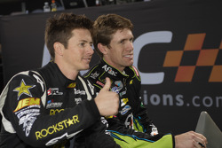 Carl Edwards and Tanner Foust