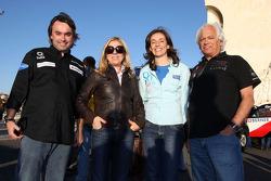 Pioneer Solo Desert Team BMW presentation in Lisbon: Ricardo Leal dos Santos and Elisabete Jacinto